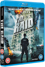 THE RAID  - BLU-RAY - REGION B UK