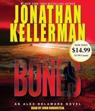 Alex Delaware: Bones by Jonathan Kellerman (2010, CD, Abridged)