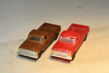 1978 Ford F-150 Pickup Truck Pair HO Scale Free Shipping