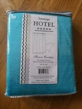 Saratoga Hotel Collection Shower Curtain NEW