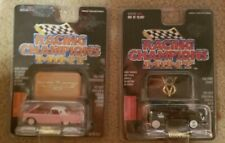 RACING CHAMPIONS MINT EDITION 1956 FORD THUNDERBIRD PINK 1932 BLACK COUPE LOT
