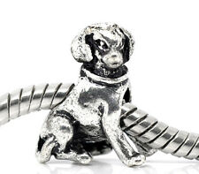 Labrador Retriever Dog Pet Puppy Animal Bead for Silver European Charm Bracelets