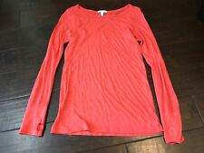 Delia's Fashion Casual Crew Crewneck Long Sleeve Fitted T Shirt - Size Medium