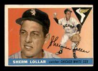 1955 Topps Set Break # 201 Sherm Lollar VG-EX *OBGcards*