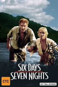 Six Days, Seven Nights DVD (PAL, 2002) Free Post