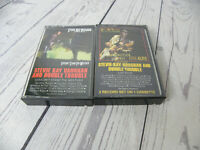 Stevie Ray Vaughan & Double Trouble Live Alive Weather Lot of 2 Cassette Tapes