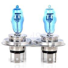 2Pcs HOD H4 100W Xenon HID Super White Auto Car Headlight bulbs 6000K DC 12V