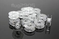 20 Pfaff Spulen Doppel-Umlaufgreifer 22x9 hobbymatic tipmatic tiptronic creative