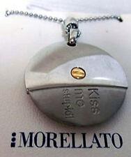 COLLANA MORELLATO CIONDOLO KISS ME ACCIAIO E ORO S018908P (List. €. 72,00)