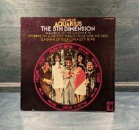 The Age of Aquarius 5th Dimension SCS-92005 60s Record Album 1969 Gatefold LP