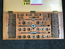 Circular Split Stocks & Dies Set  C.E.I. 24 Made in BRITAIN - Imperial Unit Size