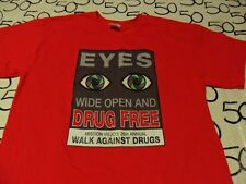Large- Mission Viejos Walk Against Drugs T- Shirt