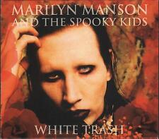 "MARILYN MANSON AND THE SPOOKY KIDS - 2 CD "" WHITE TRASH """