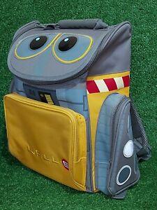Disney Pixar WALL-E Backpack/Rucksack Ergonomic Bag System Padded Back RARE