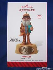 2014 Hallmark Keepsake Christmas Ornament Uncle Si Duck Dynasty Magic Sound NIB