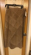 Womens Leather Skirt Size 10 NEW