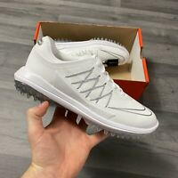 NIKE WOMENS LUNAR CONTROL VAPOR WHITE GOLF SHOES SIZE UK4.5 US7 EUR38