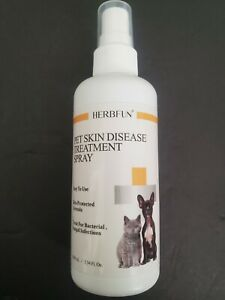 Pet Skin Treatment for conditions that cause itch, Hot Spots and Fungus 3.34oz