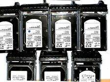 "LOT 7X Dell  300GB 15K 15000RPM SAS 3,5"" GM251 WR712 HR200 F617N + CADDY"