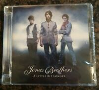 Jonas Brothers      A Little Bit Longer.     Brand new and sealed