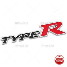 For Honda Type R Racing Sport Black Rear Tailgate Emblem Badge Logo Metal Fits 2012 Honda Civic