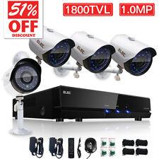 ELEC 1800TVL 8CH 960H HDMI CCTV DVR Home Surveillance Security Camera System