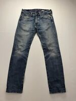 REPLAY NEWDOC STRAIGHT Jeans - W32 L34 - Blue - Great Condition - Men's