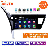 10.1' Android 10.0 For 2017 Toyota Corolla (LHD) left driving Radio GPS Naviga