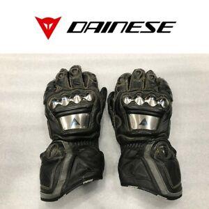 Dainese Men's Full Metal Pro Leather Motorcycle Gloves Size: Medium (Damaged)