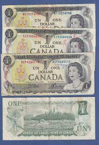 CANADA $1 (1973) Circulated Notes  ✹DDC L5✹