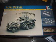 ITALERI SD.KFZ. 232 6 RAD PLASTIC MODEL 1/35