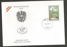AUSTRIA - 1988 Salzburg National Exhibit in the Mattsee Foundation - F.D.COVER.