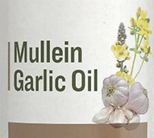 MULLEIN GARLIC OIL - Gentle Herbal Ear Drop Formula for Aches & Infections USA