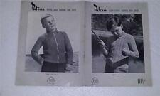 Knitting Patterns - Patons   315   - Jumpers for Boys