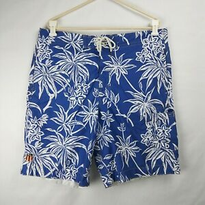 POLO Jeans Co. Ralph Lauren Swim Trunks w/ Pockets Mesh Lined Blue Men's Size XL