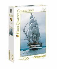 Puzzle Navire Amerigo Vespucci voilier ancien; 500 pièces Clementoni 30123