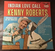 Kenny Roberts Indian Love Call AUTOGRAPHED Honky Tonk NM Vinyl Slp 336 1st 1965