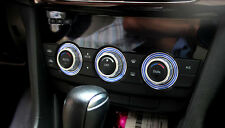 For Mazda CX-5 2012 2013 2014 Blue Car Air conditioning adjusting button cover