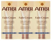 Ambi Skincare Fade Cream Normal Skin Fade Cream Dark Spots 2oz (Pack of 3)