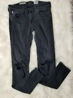 Ag adriano goldschmied skinny 26 The Legging Ankle Distressed Destroyed Jeans...