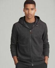 NWT Polo Ralph Lauren Collection $288 Grey HERRINGBONE Zip Hoodie Jacket Men's M