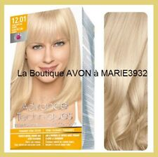 COLORATION Cheveux Blond Très Claire Cendré 12.01  AVON COLOUR