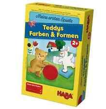 Haba Mis primeros juegos TEDDYS Colores & Formas 5878 VIENE 2 Años de Combinar