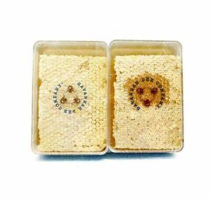 Lot of 2 Packs Hungary Savannah Bee Company Raw Honeycomb (12.3oz x pack of 2)