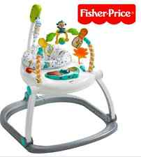 New Fisher-Price Colourful Carnival SpaceSaver Jumperoo Baby/Boy/Girl/Child/Safe
