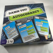 NEW Damn You AutoCorrect The Board Game 2012 go! Games