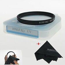 RISE(UK) 49mm UV Filter for  Sony Alpha A6000 NEX-6 NEX-5T NEX-5N +Case