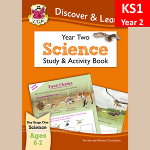 KS1 Year 2 Discover and Learn Science Study and Activity Book CGP