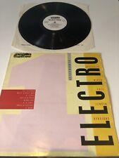 Street Sounds Electro Vol 1 VG/EX original 1983 vinyl LP