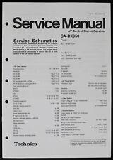 TECHNICS SA-DX950 Original AV-Receiver Service-Manual/Service Schematics o186